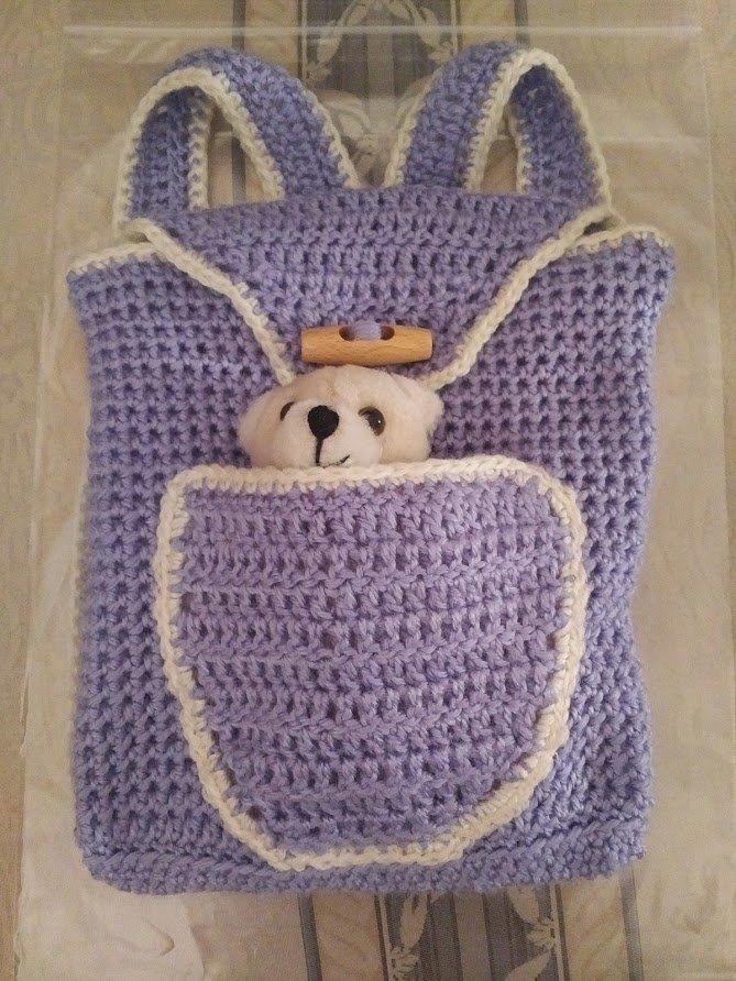 lilac-back-pack-teddy-inside