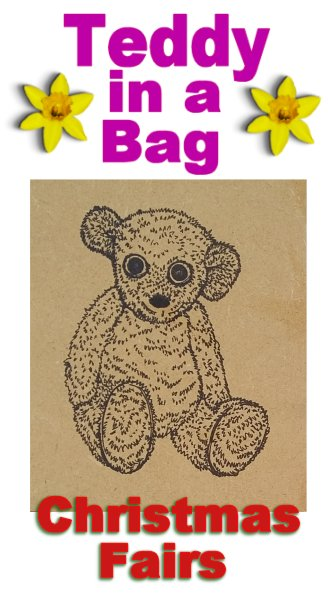 Teddy in a bag Christmas Fairs list 2017