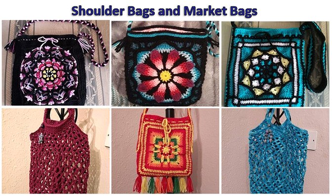 Bags for sale in our Etsy store